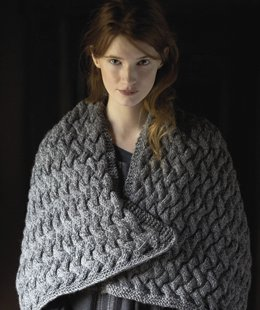 Rowan Renew Snowdrop Wrap Kit - Scarf and Shawls