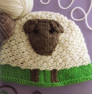 Cascade 220 Superwash Sheep Hat Kit - Baby and Kids Accessories