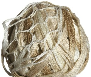 Katia Triana Lux Yarn - 30 White/Tan