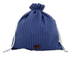 della Q Eden Cotton Project Bag (115-2) - z082 Royal Pinstripe