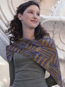 Artyarns Regal Silk Triangle Scarf Kit - Scarf and Shawls
