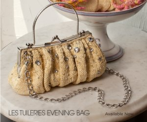 Noni Patterns - Les Tuileries Evening Bag Pattern