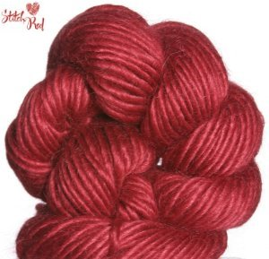 Be Sweet Whipped Cream Yarn - 803 Lipstick (Stitch Red)