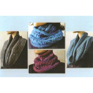Ann Norling Patterns - 71 - Easy Cowl in Any Gauge Pattern