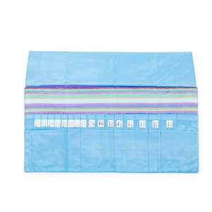 della Q Interchangeable Needle Case - 185-1 - 023 Ocean