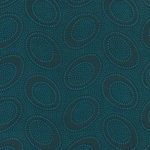 Kaffe Fassett Aboriginal Dots Fabric - Charcoal