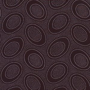 Kaffe Fassett Aboriginal Dots Fabric - Chocolate