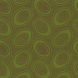 Kaffe Fassett Aboriginal Dots Fabric - Forest