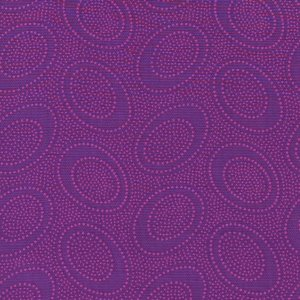 Kaffe Fassett Aboriginal Dots Fabric - Plum