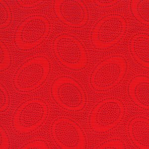 Kaffe Fassett Aboriginal Dots Fabric - Red