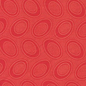 Kaffe Fassett Aboriginal Dots Fabric - Terra Cotta