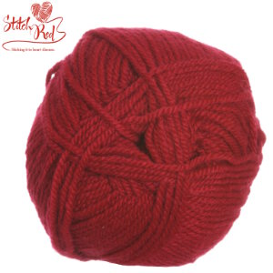 Plymouth Encore Worsted Yarn - 0475 Stitch Red