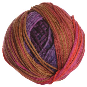 Classic Elite Liberty Wool Print Yarn - 7890 Ultra Violet Autumn