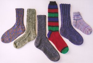 Ann Norling Patterns - 12 - Adult Basic Socks Pattern