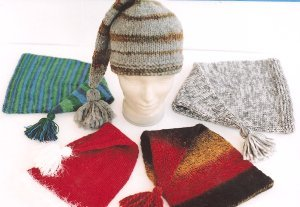 Ann Norling Patterns - 61 - Pointed Stocking Cap Pattern