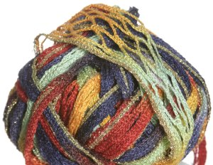 Filatura Di Crosa Moda Lame Yarn - 04 Horizons/Gold (Discontinued)