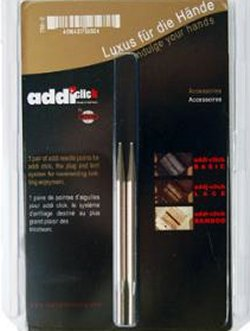 Addi Lace Click - Short Tips Needles - Lace Tip Pack - US 11 Needles