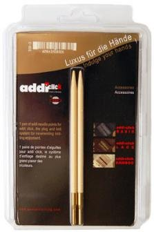 Addi Natura Click Tips Needles - Natura Tip Pack - US 8 Needles