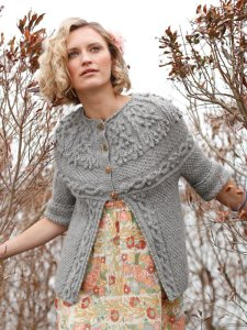 Berroco Ultra Alpaca Breena Cardigan Kit - Women's Cardigans