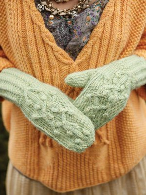 Berroco Ultra Alpaca Rosina Mittens Kit - Hats and Gloves