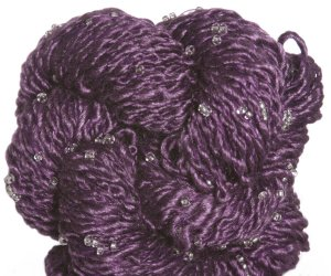 Louisa Harding Grace Hand Beaded Yarn - 07 Purple