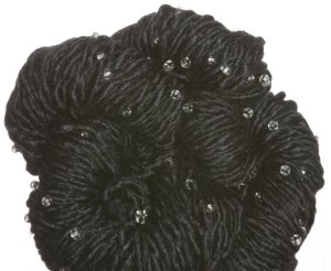 Louisa Harding Grace Hand Beaded Yarn - 08 Black