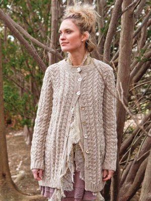 Berroco Blackstone Tweed Fleta Cardigan Kit - Women's Cardigans