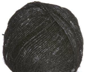 Crystal Palace Moonshine Yarn - 0202 Jet Black
