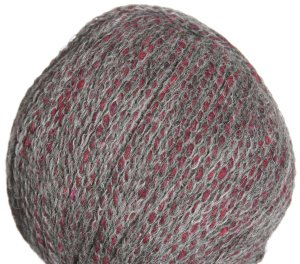 Schachenmayr select Tweed Deluxe Yarn - 7144 Burgundy, Gray