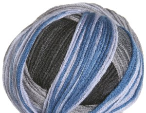 Schachenmayr select Extra Soft Merino Color Yarn - 05287 Gray/Black