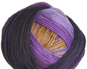 Schachenmayr select Extra Soft Merino Color Yarn - 05284 Purple/Mustard