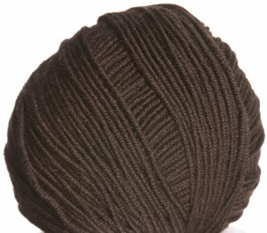 Filatura Di Crosa Zara Yarn - 1663 Chocolate Brown
