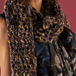 Berroco Janika Scarf Kit - Crochet for Adults
