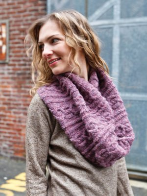 Berroco Voyage Scuro Cowl Kit - Scarf and Shawls