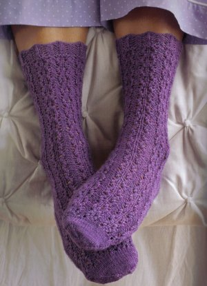 Lorna's Laces Shepherd Sock Rose Ribs Kit - Socks