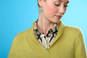 Classic Elite Fresco Cornsilk Pullover Kit - Women's Pullovers