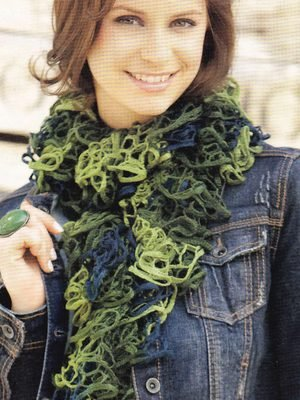 Triana or Triana Lux Scarf Pattern Kit - Scarf and Shawls