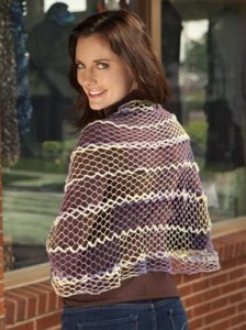Rozetti Marina and Soft Payette Scarf Kit - Crochet for Adults