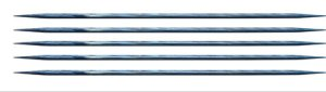 "Knitter's Pride Dreamz Double Point Needles - US 3 - 5"" (3.25mm) Royale Blue Needles"