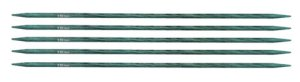 "Knitter's Pride Dreamz Double Point Needles - US 0 - 6"" (2.0mm) Aquamarine Needles"