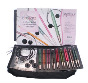 Knitter's Pride Dreamz Interchangeable Deluxe Needle Set Needles