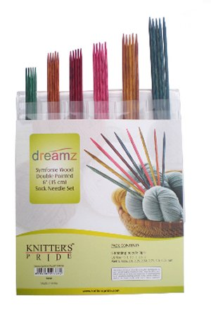 "Knitter's Pride Dreamz Double Point Needle Sock Set Needles - 6"" Double Point Sock Needle Set Needles"