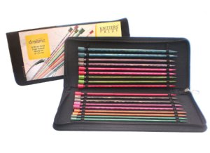 "Knitter's Pride Dreamz Single Point 10"" Needle Set Needles"