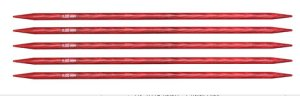 "Knitter's Pride Dreamz Double Point Needles - US 8 - 8"" (5.0mm) Cherry Blossom Needles"