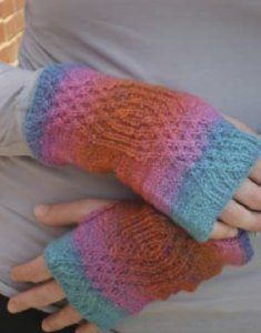 Wisdom Yarns Poems Sock Interwoven Mitts Kit - Hats and Gloves