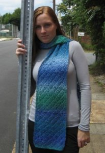 Wisdom Yarns Poems Sock Trellis Lace Scarf Kit - Scarf and Shawls