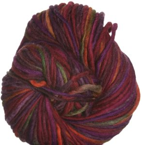 Brown Sheep Burlyspun Hand Paint Yarn - 240 Strawberry Patch