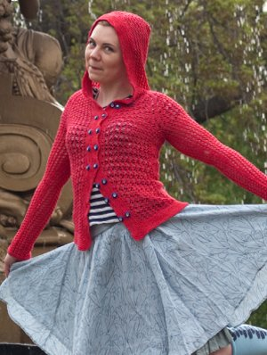 Lorna's Laces Shepherd Sock Laika Cardigan Kit - Women's Cardigans