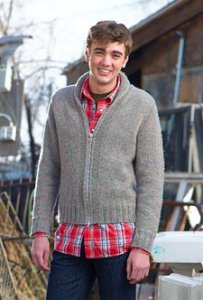 Cascade Eco Wool East Hale Cardigan Kit - Mens Cardigans