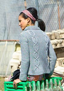 Rowan Felted Tweed Aran Montview Cardigan Kit - Women's Cardigans